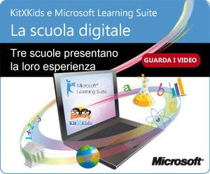 KitXKids e Microsoft Learning Suite: la scuola digitale